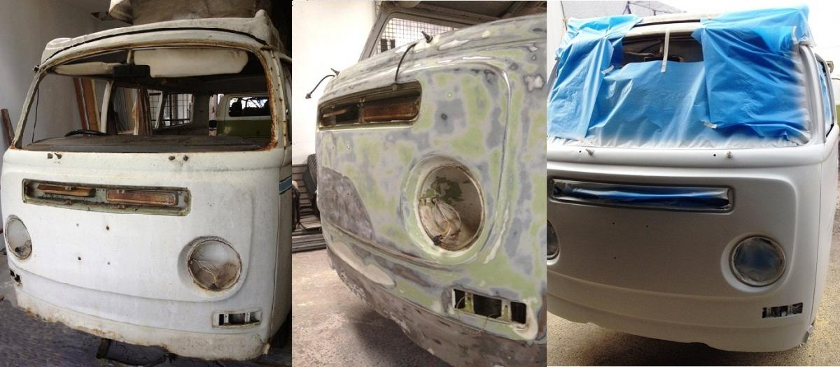 VW Kombi Camper 72 Lowlight Stage 1