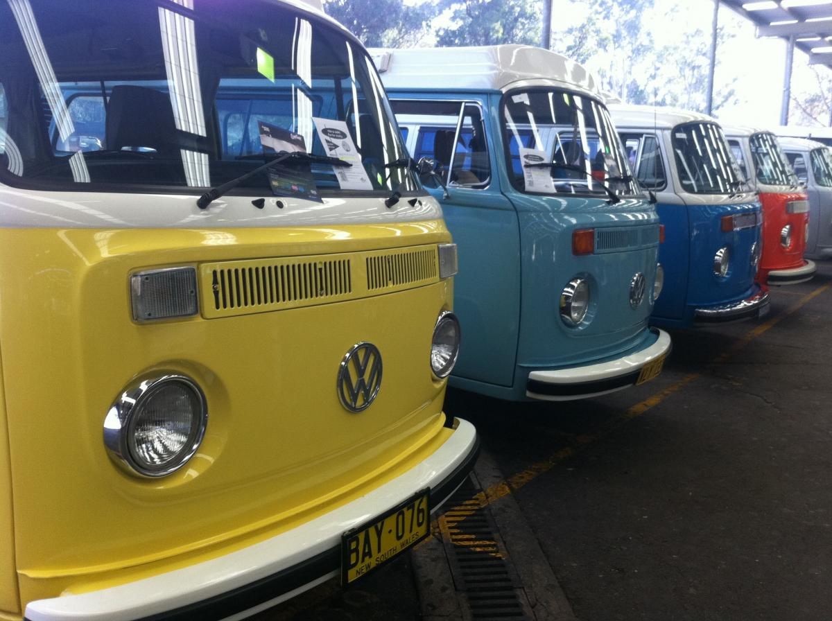 Come to the VW Nationals 2012 | Righteous Kombis | Volkswagen Beetle and Kombi for Sale!