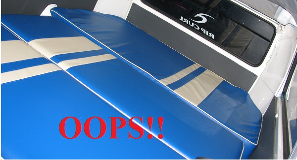 VW Kombi Upholstery Mistake