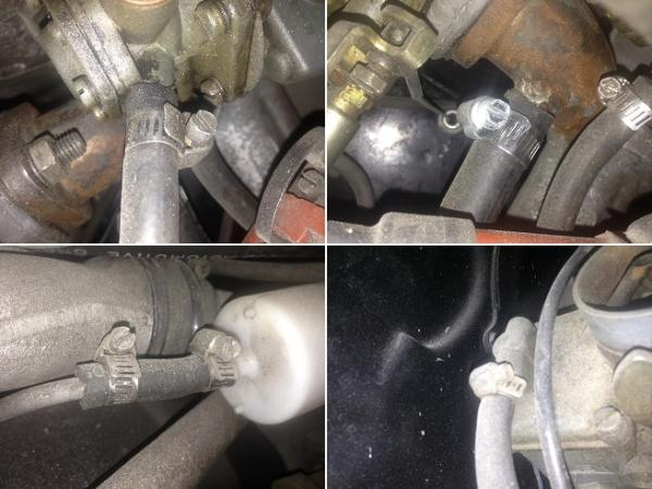 VW Kombi Fuel Lines in Good Repair