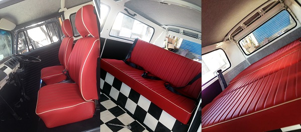 How to restore an 1971 ex army vw kombi lowlight earl for Vw kombi interior designs