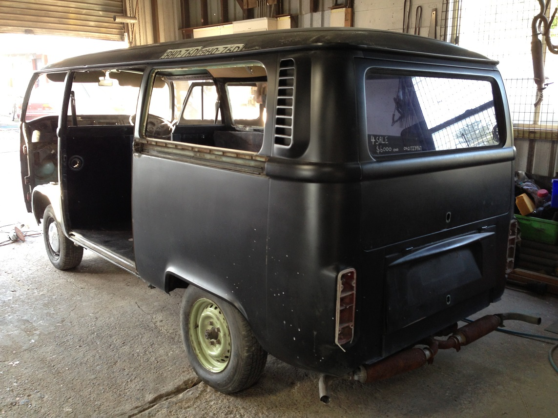 VW Kombi Black Betty