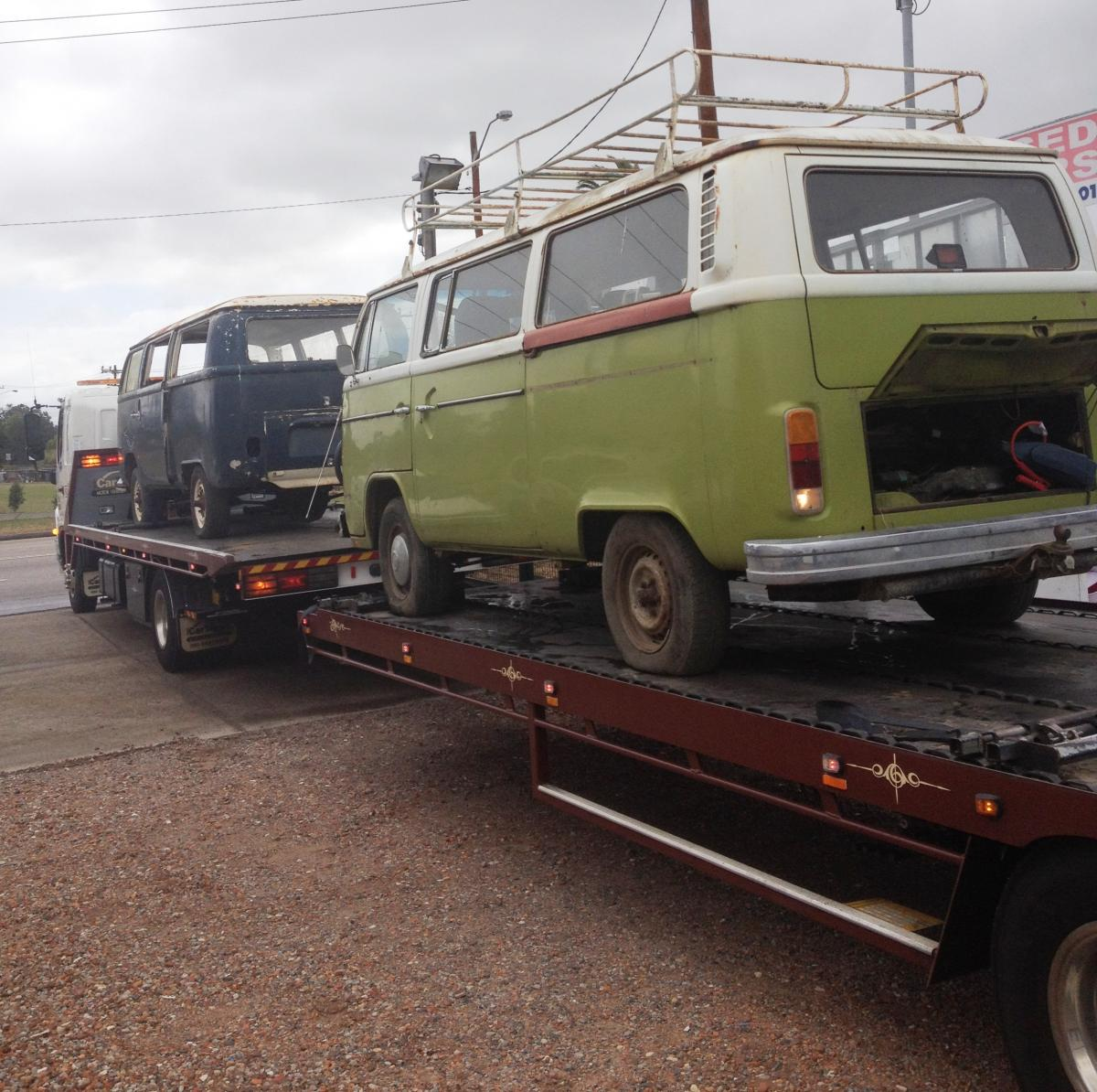 VW Kombi Delivery