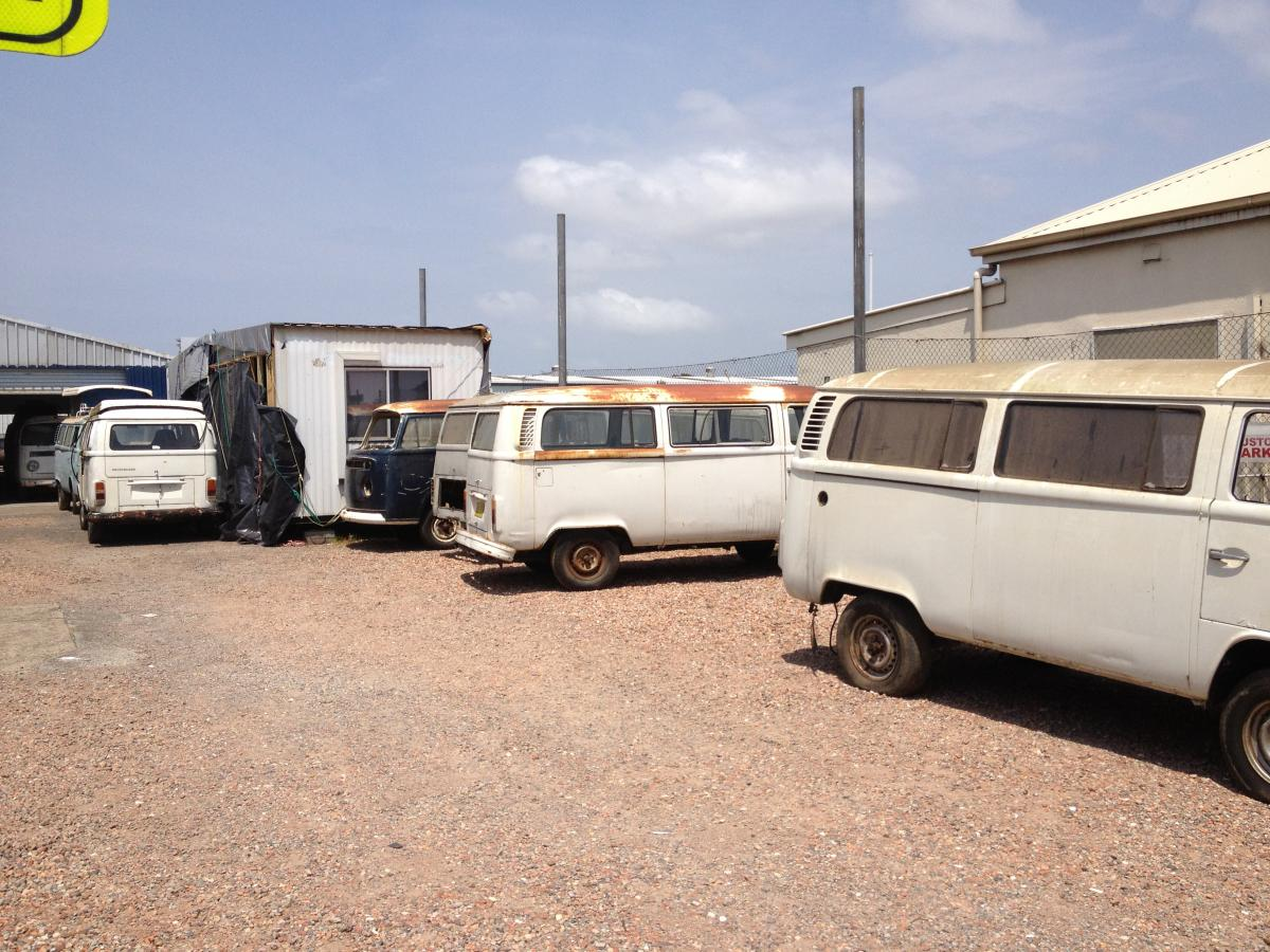 VW Kombi Restoration Yard